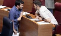 Imagen del conseller Marzà, este miércoles en las Cortes Valencianas