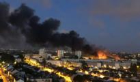 Nantes, convertida en una zona de guerra