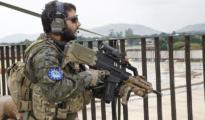 Guardia Civil armado en la República Centroafricana
