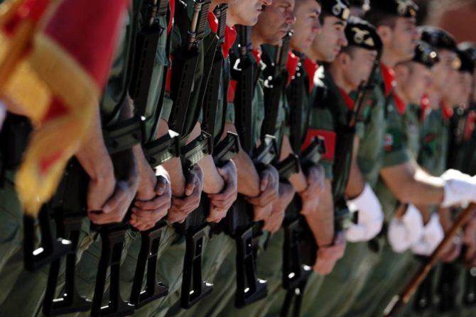 Miembros de la Brigada Paracaidista (El País)