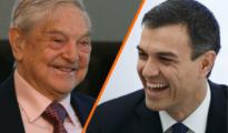 Soros y Sánchez: amo y vasallo.
