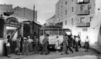 Turistas americanos, durante un viaje organizado a España, en la década de 1950.