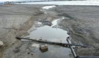 Imagen de archivo de 2008 de un vertido de aguas residuales en una playa de Almería