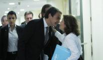 Zapatero y Soraya.
