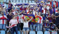 Aficionados de la SD Huesca