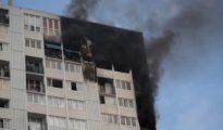 Indencio en el edificio de Aubervilliers en el que murieron una mujer embarazada y sus tres hijos.