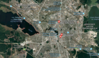El suceso se produjo en la ciudad de Ekaterimburgo/ Google Maps