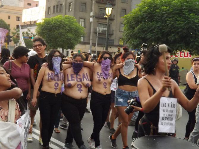 Feministas radicales, punta de lanza mundialista contra el hombre blanco.