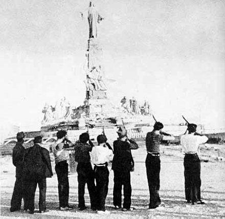 Fusilamiento del Cristo del Cerro de los Ángeles.