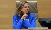 La ministra de Economía y Empresa, Nadia Calviño.