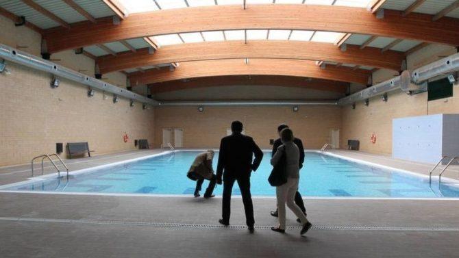 Piscina climatizada de la cárcel de Archidona, Málaga 2.