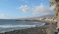 Cala de la zona de Playa de Las Ámericas.