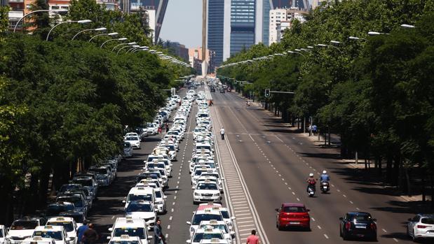 Las aplicaciones de las empresas Uber y Cabify se encuentran en las primeras posiciones de descargas
