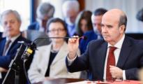El exconsejero de Presidencia Gaspar Zarrías, durante su declaración en marzo en el juicio del caso ERE