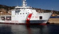 El guardacostas italiano 'Diciotti', que el 20 de agosto atracó en Sicilia con 190 inmigrantes a bordo.