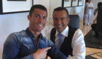Jorge Mendes y Cristiano Ronaldo.