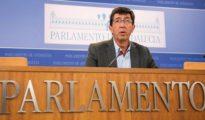 El líder andaluz de Ciudadanos, Juan Marín.