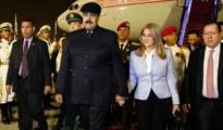 Maduro en Pekín.