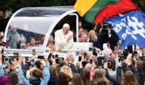 El papa en Lituania.