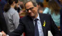 Carles Puigdemont y Quim Torra, en Bélgica