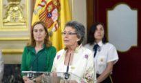 Rosa María Mateo al asumir el puesto de administradora provisional.
