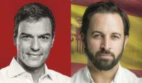 Pedro Sánchez y Santiago Abascal (El Español)