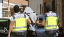 Una fotografía de archico de la Polícia deteniendo a un presunto yihadista en Madrid en 2015