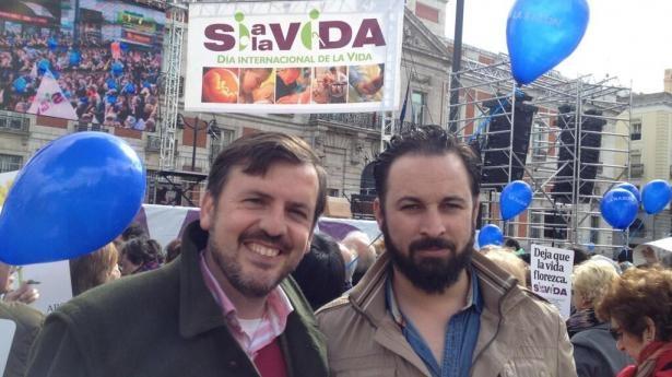 Ignacio Arsuaga y Santiago Abascal.