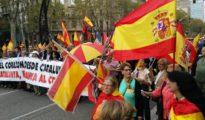 Banderas españolas en Barcelona