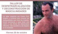 Imagen del cartel del taller sobre machismo, difundido por Podemos Elche - @podemElx