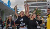 Ciudadanos brasileños celebran la victoria de Bolsonaro