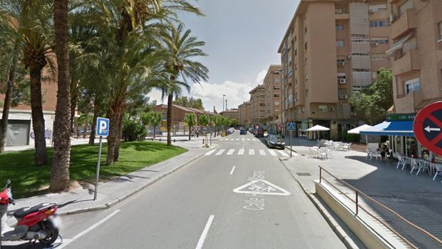 La calle donde han ocurrido los hechos