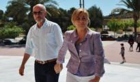 Javier Udaeta y Elena Valenciana, en una imagen de archivo