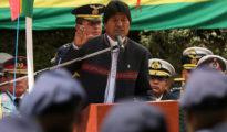 Evo Morales, presidente boliviano, en imagen de archivo.