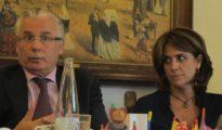 Dolores Delgado y Baltasar Garzón
