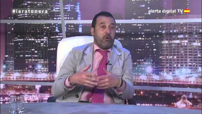 """Josele Sánchez, durante su participación en directo en """"La Ratonera""""."""