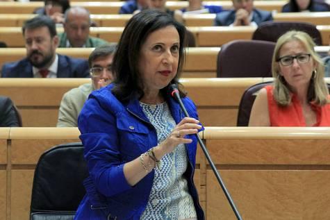 La ministra de Defensa, Margarita Robres, en una imagen de archivo.