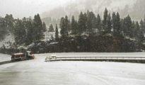 Las primeras nieves llegan a España
