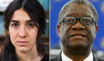 El ginecólogo Denis Mukwege y la activista Nadia Murad, premio Nobel de la Paz 2018