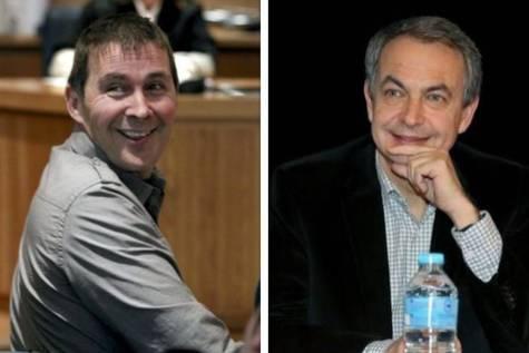 Otegui y Zapatero.