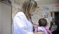 Urgencias pediátricas de un centro de salud.
