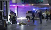 Imagen de archivo de pelea de bandas latinas en la Puerta del Sol (Madrid)