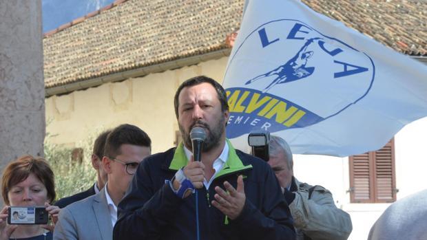 El líder de la Liga y ministro de Interior, Matteo Salvini