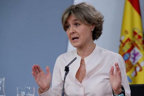 Isabel García Tejerina, ministra de Agricultura y Pesca, Alimentación y Medio Ambiente.