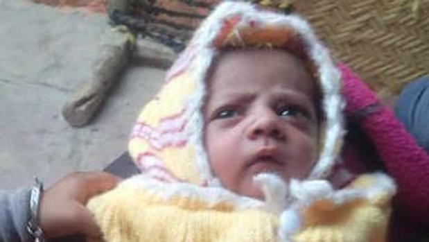 Arush, el bebé que murió al ser atacado por un mono - THE TIMES ON INDIA