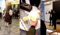Los empleados, obligados a beber orina
