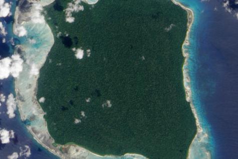La isla de Centinela Norte
