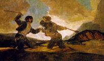Duelo a garrotazos (Goya)