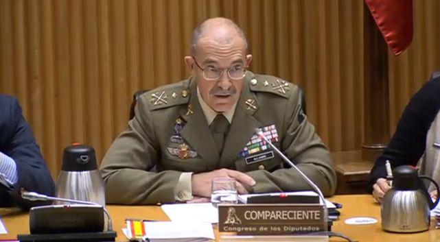 El Jefe de Estado Mayor de la Defensa, Fernando Alejandre.