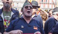 Miembros de la Hermandad de Antiguos Caballeros Legionarios de Cataluña